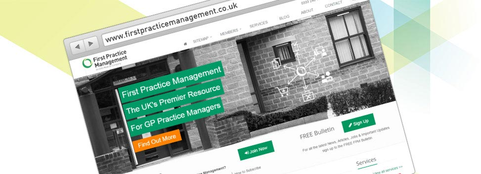 First Practice Management launches new website!